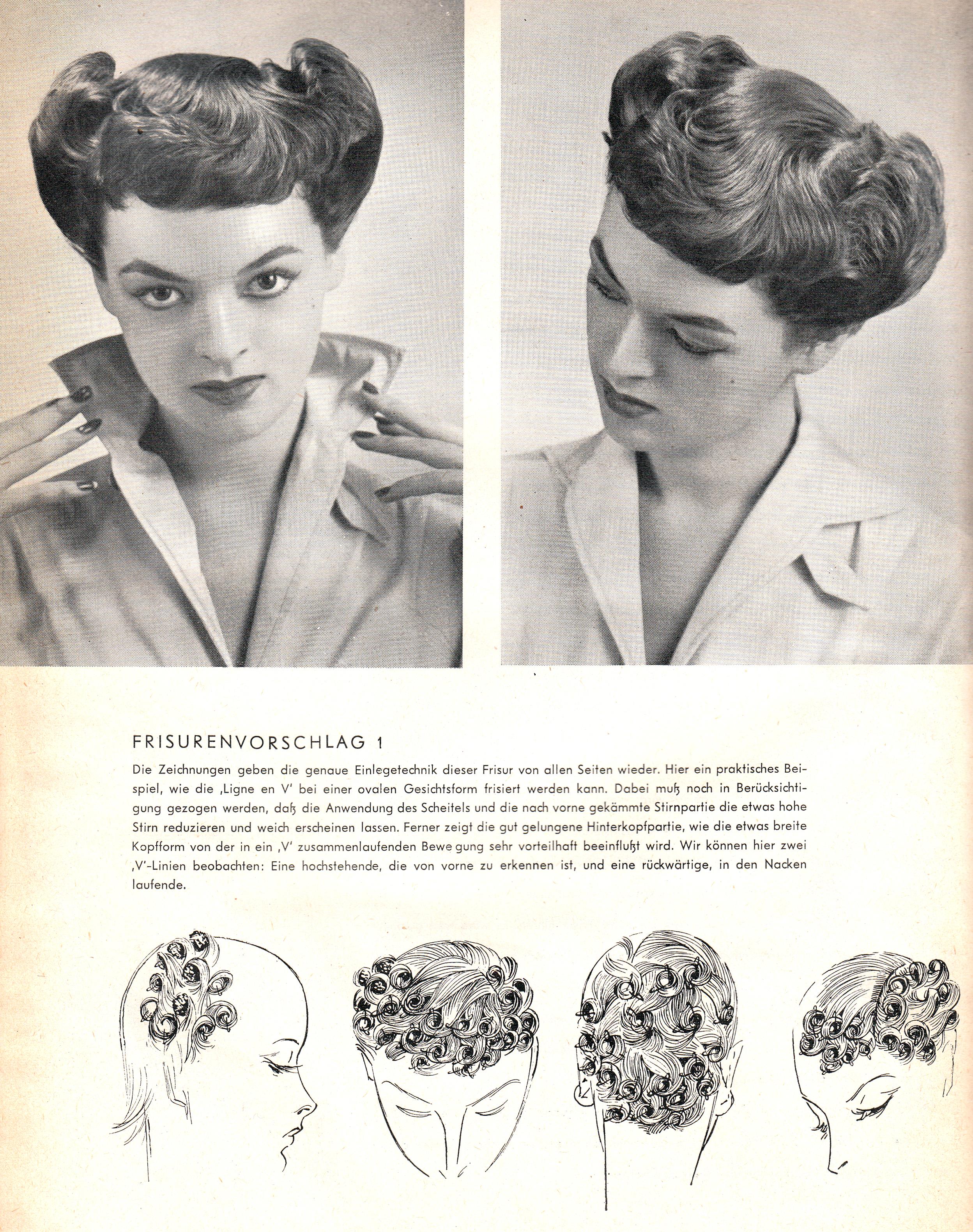 Frisuren mit 2 einlegetechniken